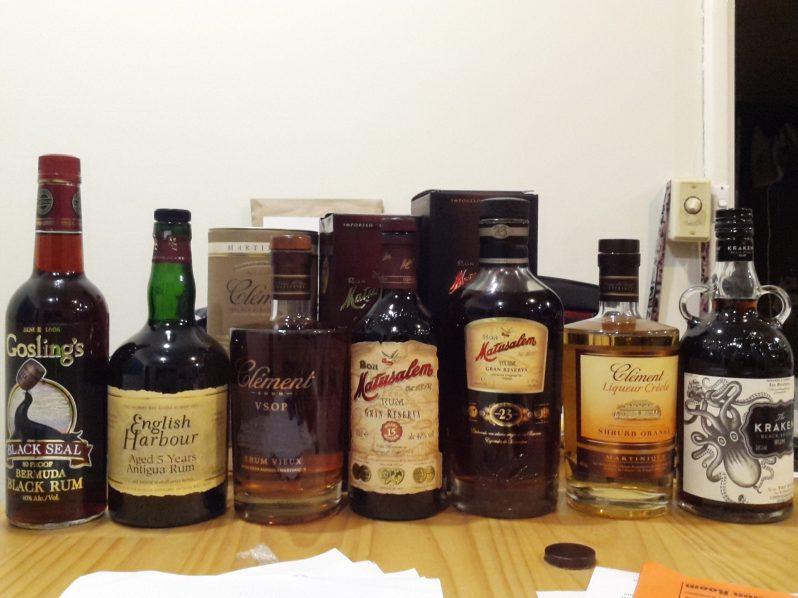 Rum, rum and more rum