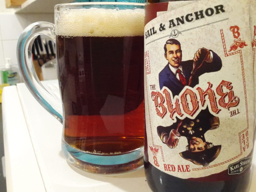 Sail & Anchor / Karl Strauss The Bloke 6% ABV 60 IBU Red Ale