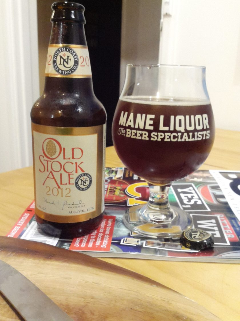 North Coast Old Stock Ale 2012