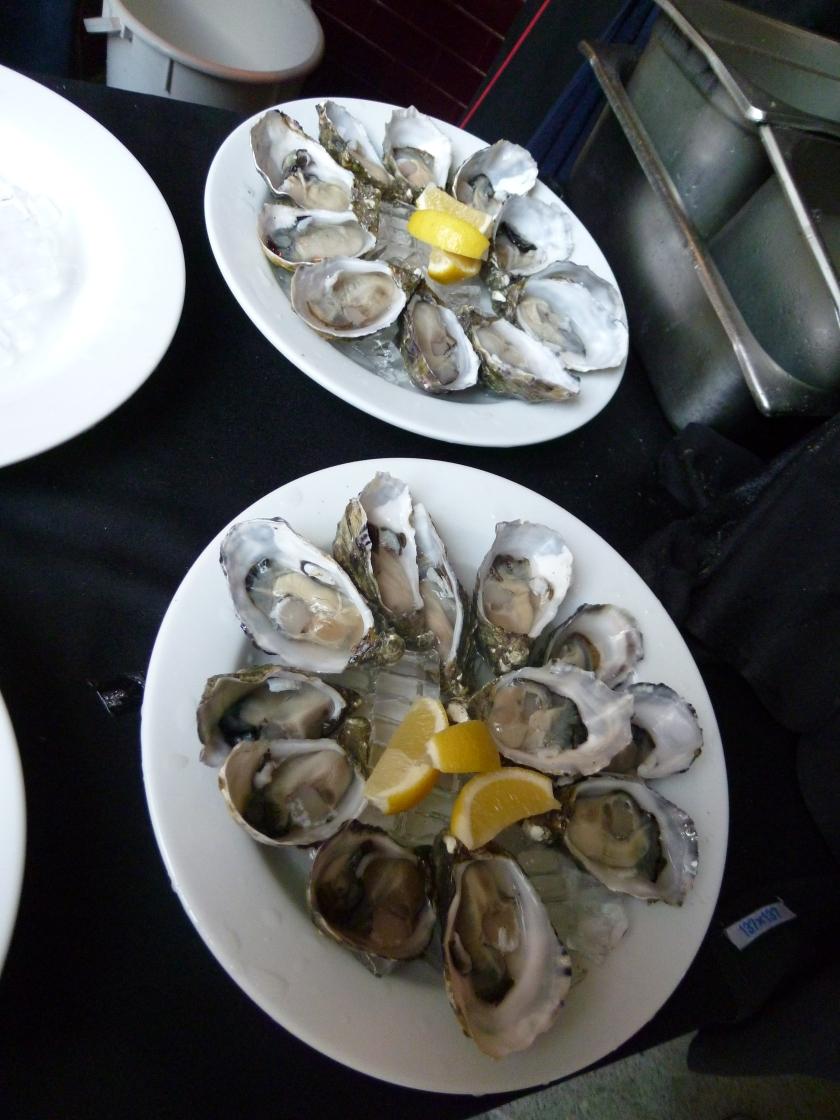 Oysters by Jerry Fraser