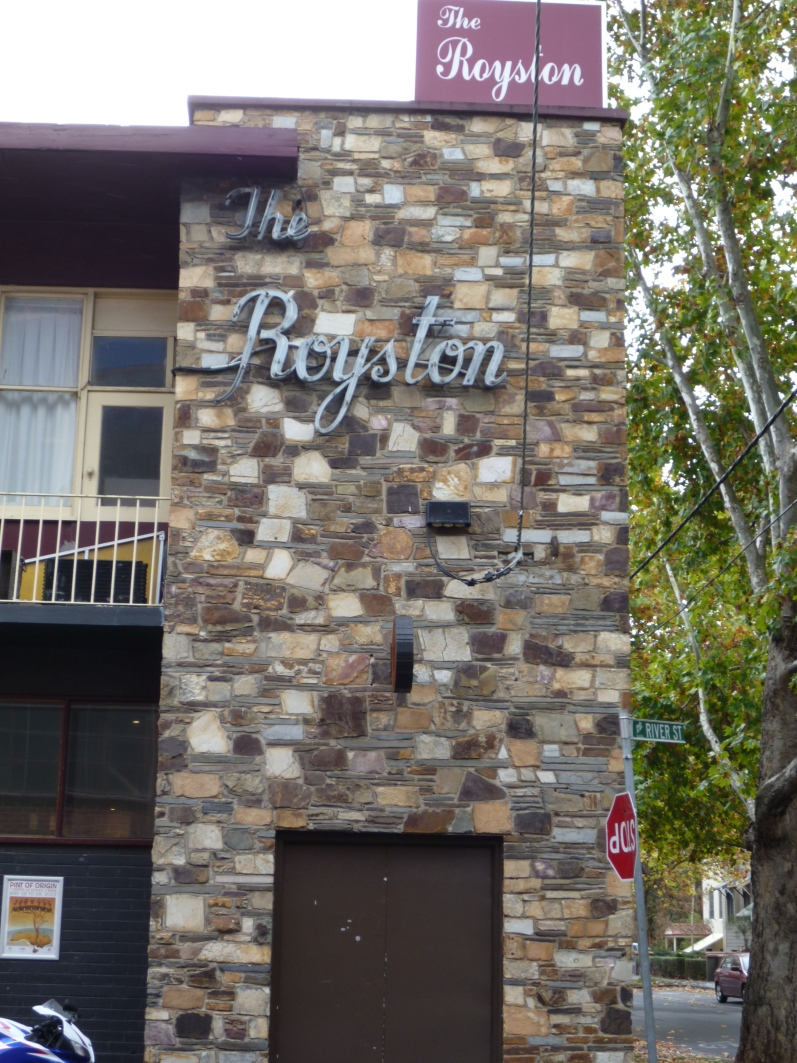 The Royston - one of the many PoO locations