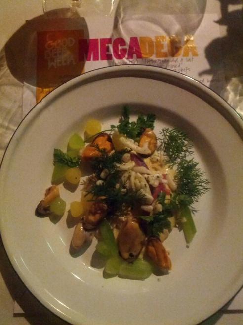 Hay Custard, Portarlington Mussels and Pickles