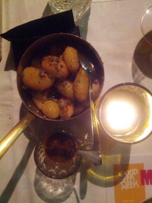 Roasted and Smoked Garlic New Potatoes