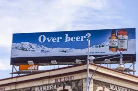 "Canadian Club ""over beer"" campaign"