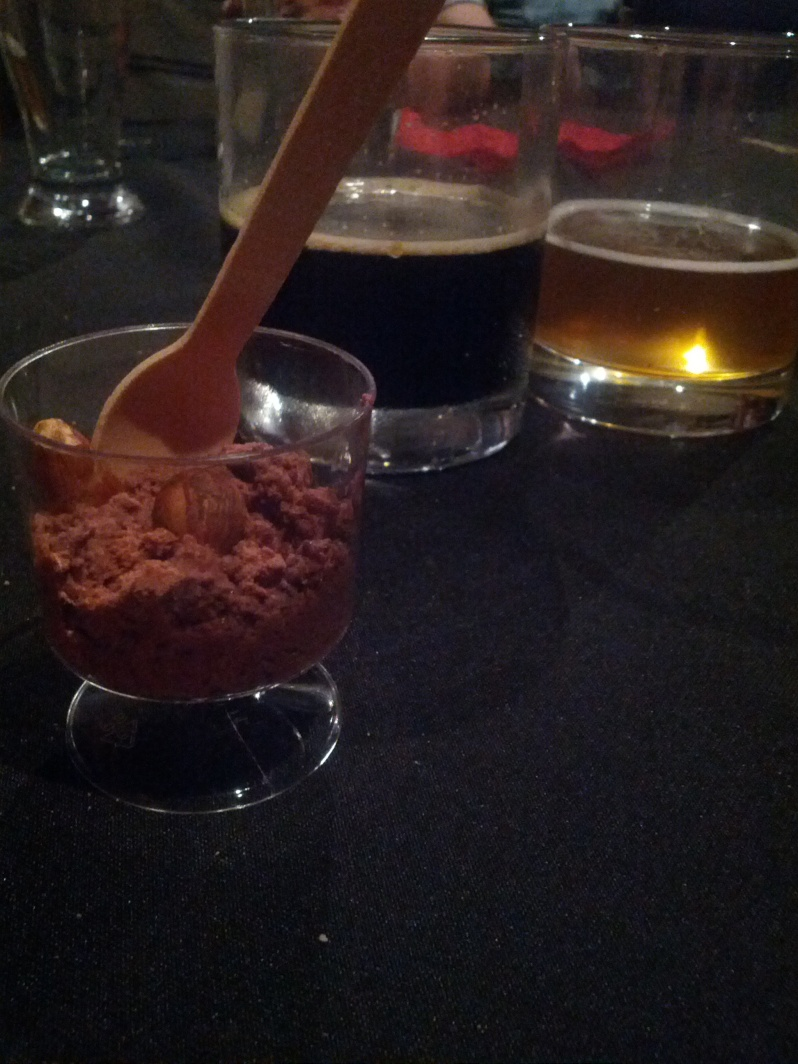 food by beersine: Bahen & Co Chocolate Mousse with hazelnuts