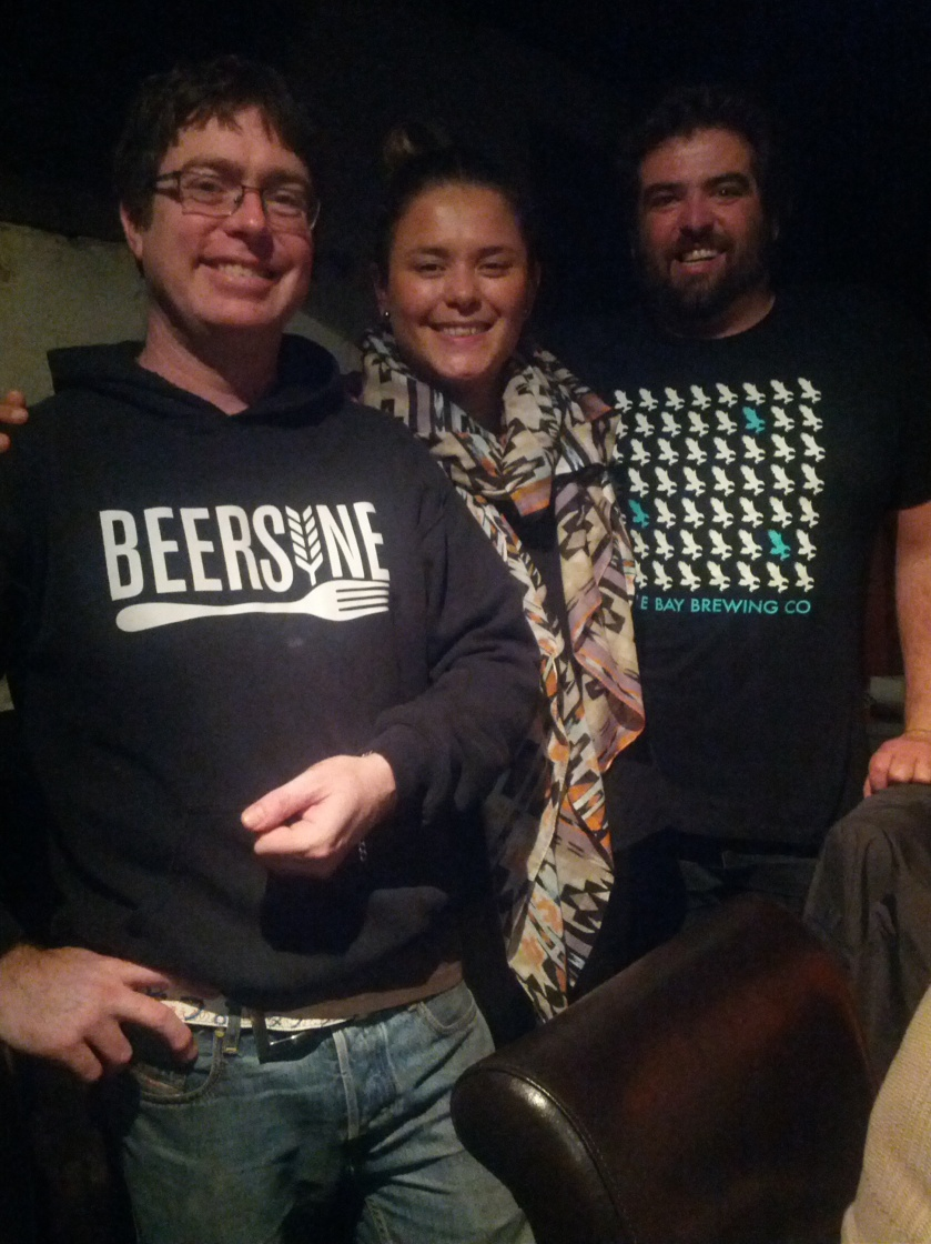 Mitch (Beersine), Margi and Edge (Eagle Bay)