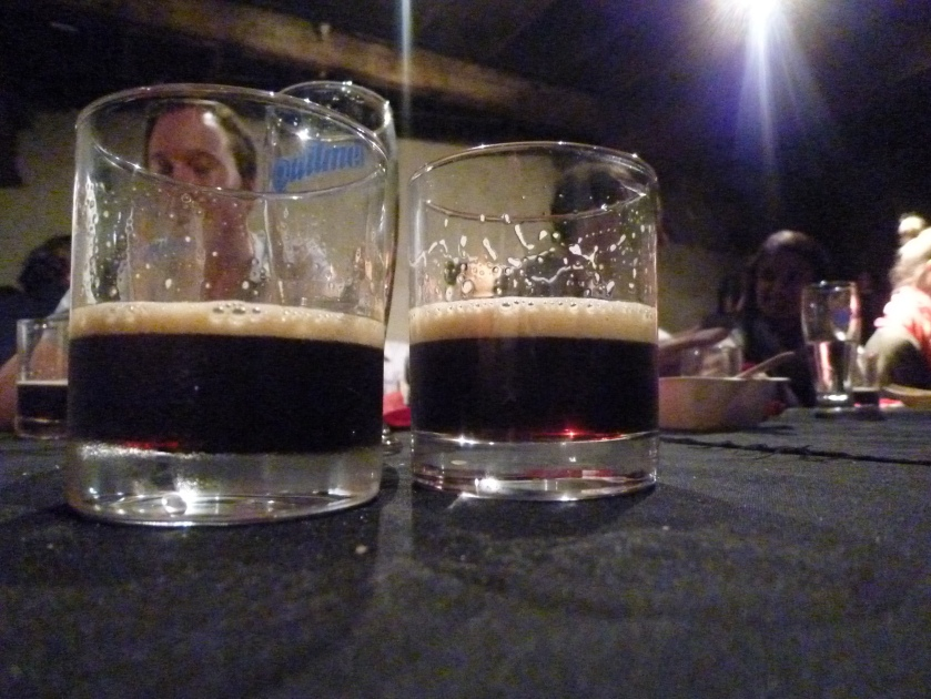 L: Eagle Bay Black IPA R: Colonial French Black IPA