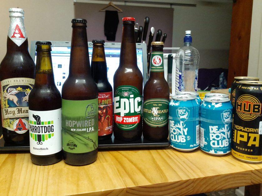 Beer shopping is always delightfully good fun!