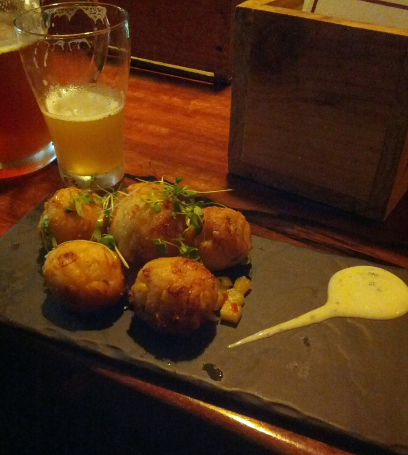 Croquettes at Five Bar