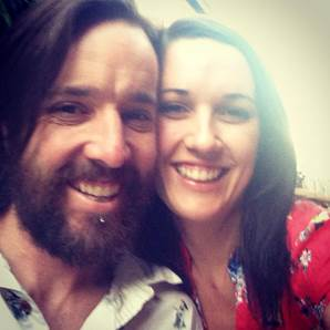Matt Shiel with his wife