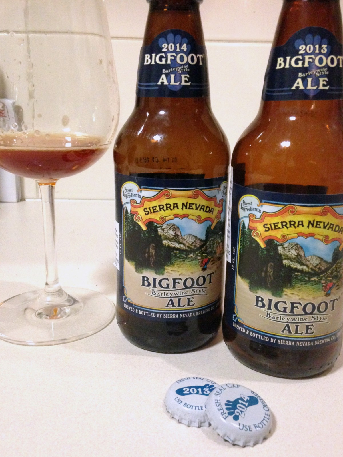 Sierra Nevada Bigfoot 2013 + 2014