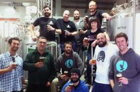 A photo from brew day, taken from the South West in the City II Facebook event page