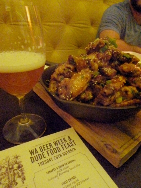 Sticky Chicken Wings & Ryezilla