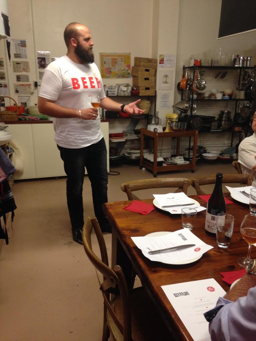 Paul talking about Colonial Altbier