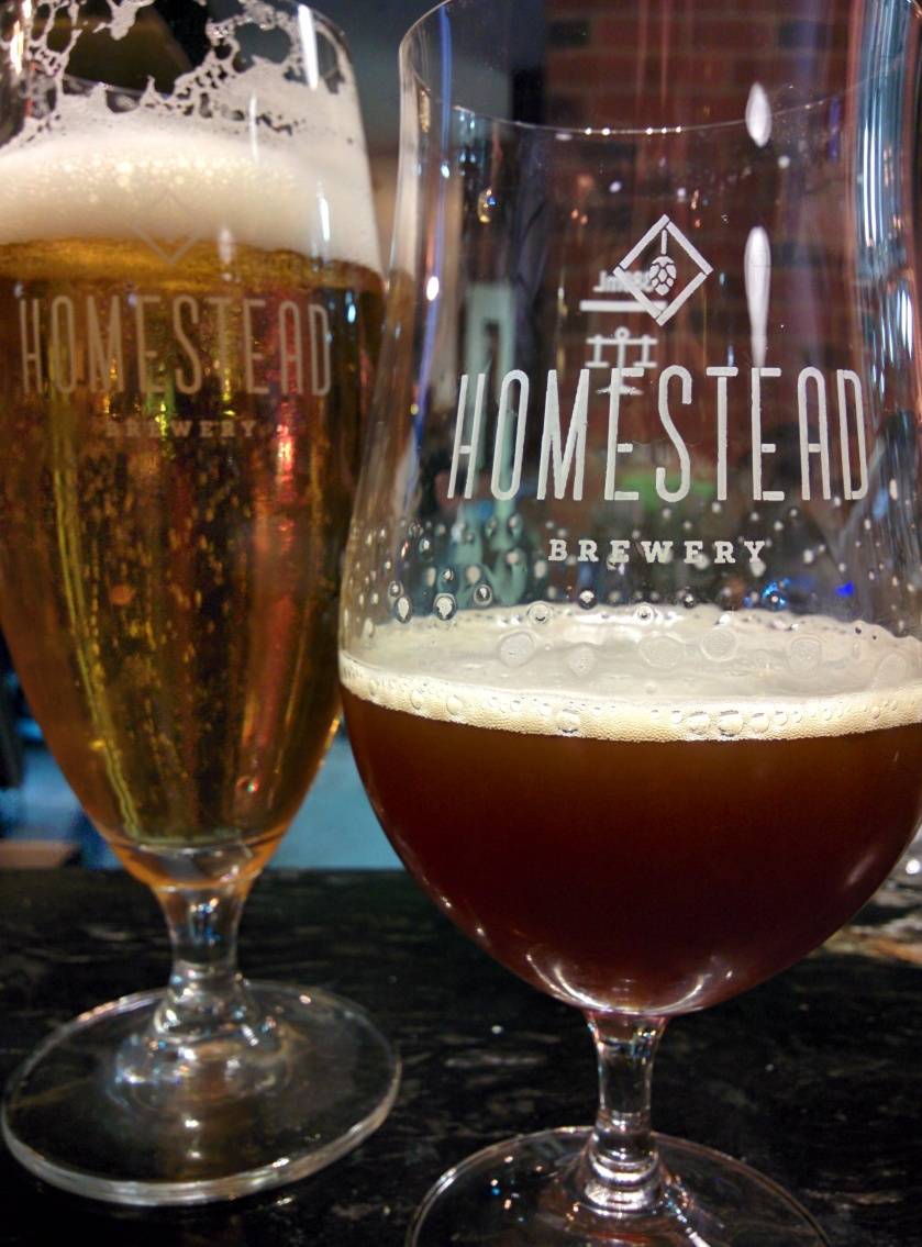 Homestead's Munich Lager and Curvee