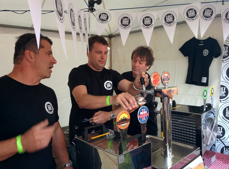 Jan and his team at Last Drop at Freo Beer Fest