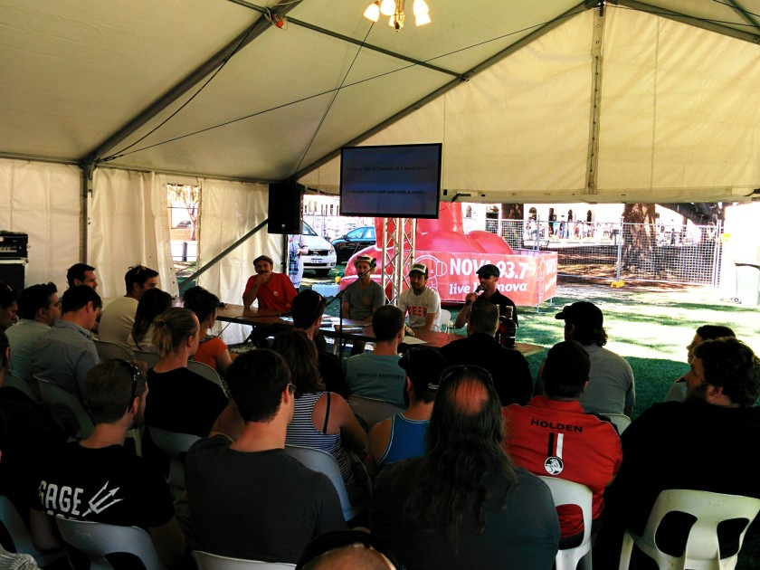 Master Classes at Fremantle Beer Fest 2014