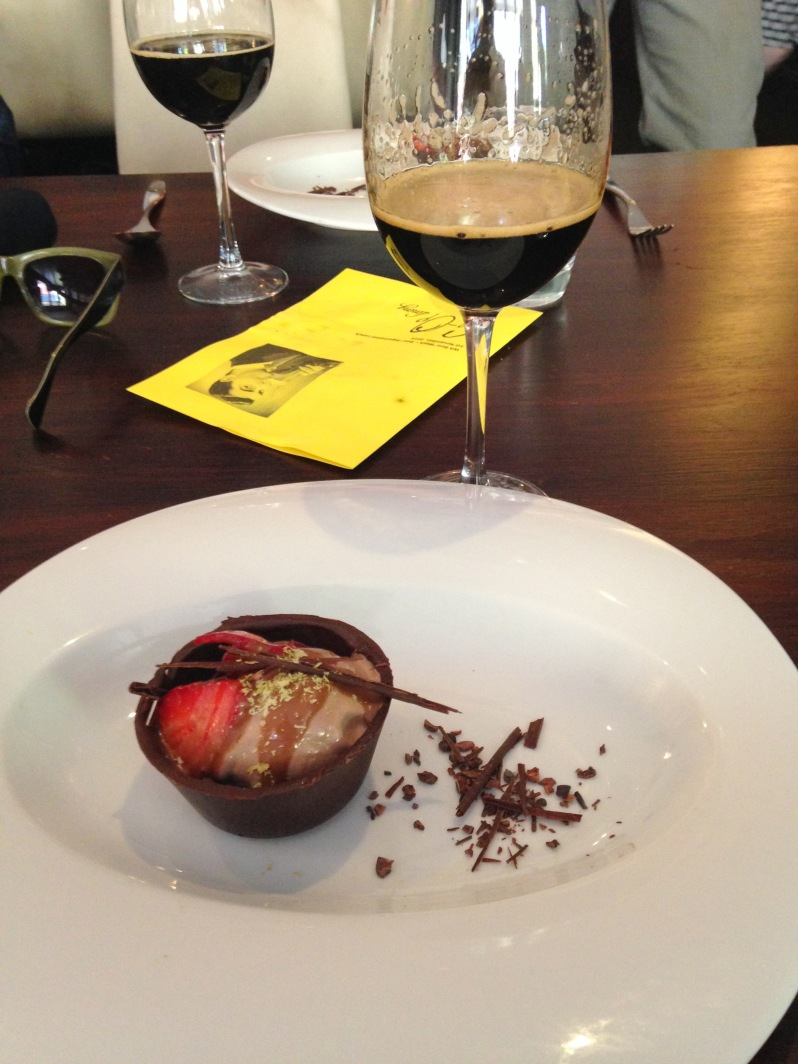 Chocolate Tart with Wort Caramel and Bahen & Co Chocolate PNG Ice-Cream by Sue Lewis of Sue Lewis Artisan Chocolatier