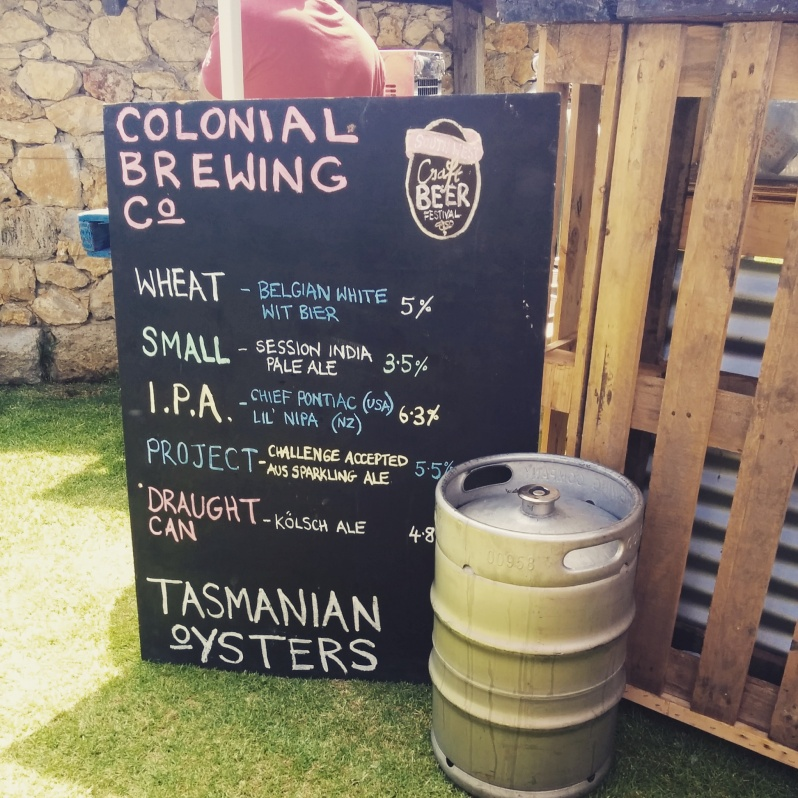 Colonial Brewing at SW Craft Beer Festival