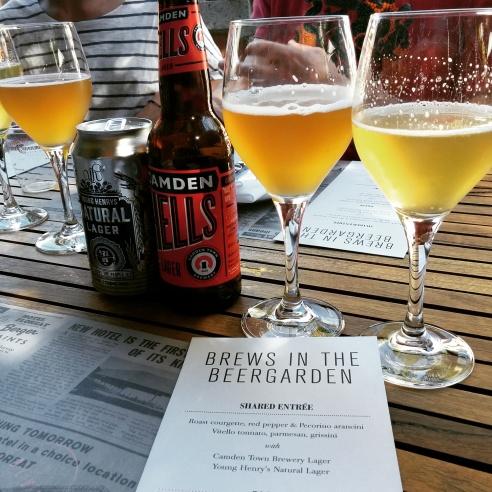 Brews in the Beer Garden