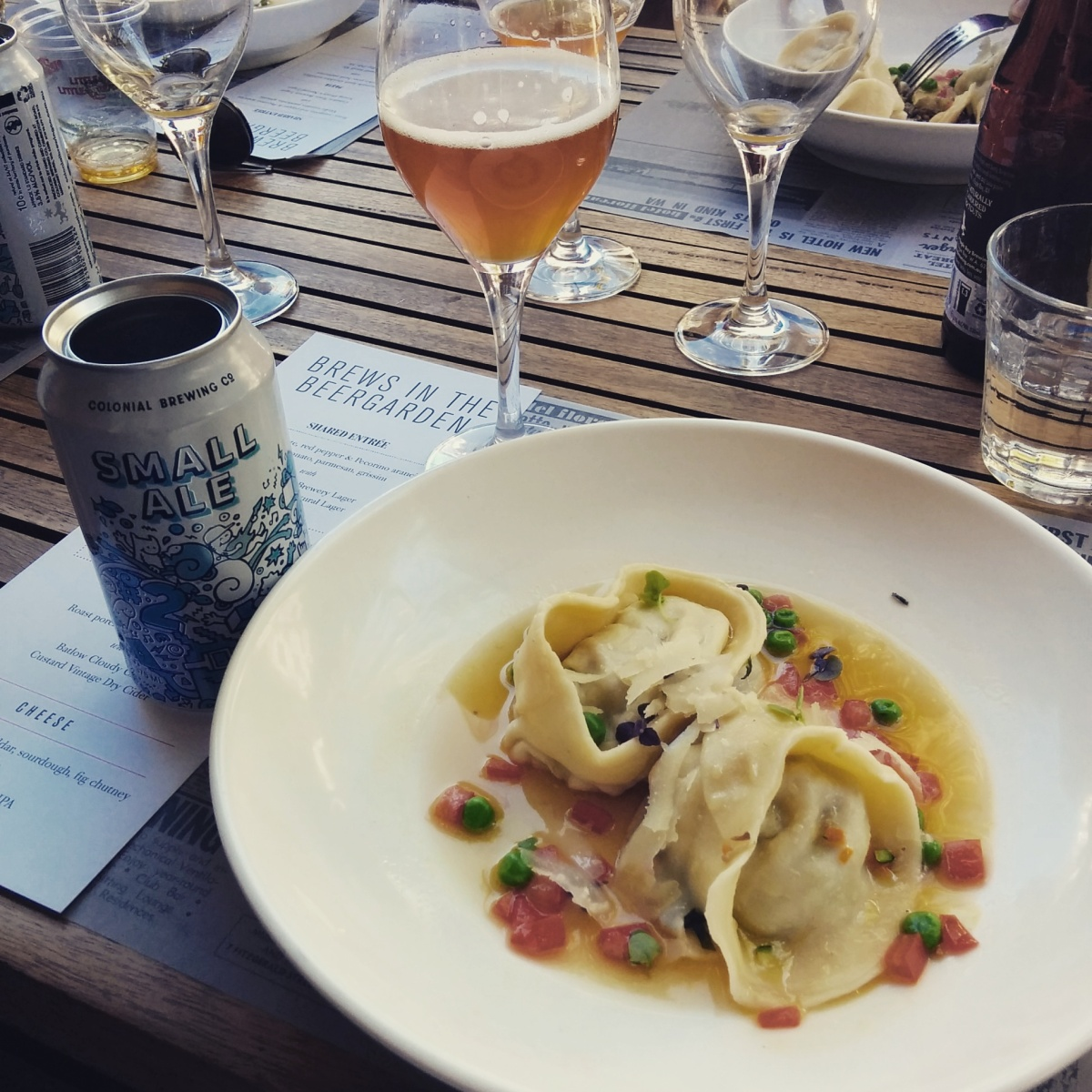 Beer & Food Pairing … but not all the time