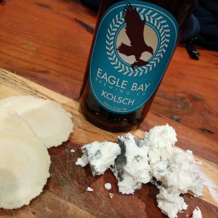 Eagle Bay Kolsch & Chevre