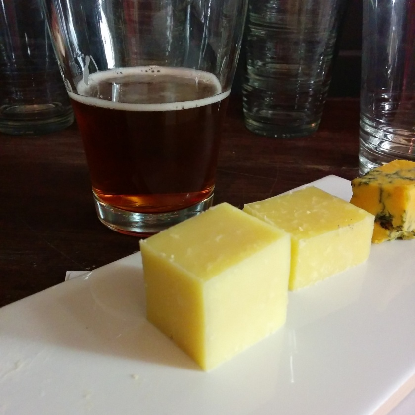The Fine Cheese Co. Cave Aged Cheddar and Eagle Bay ESB