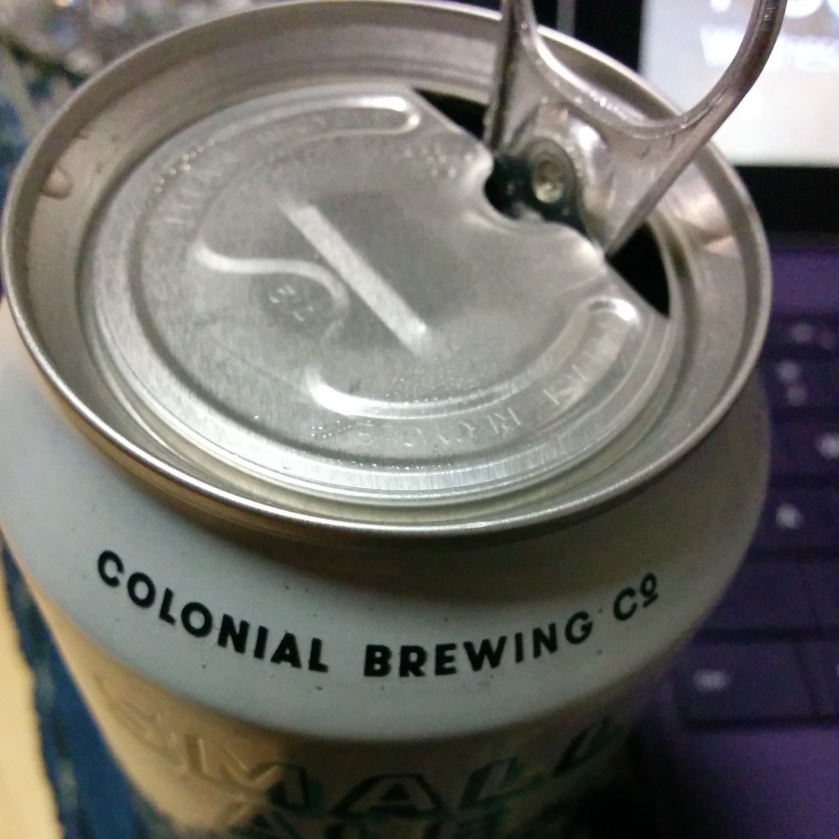 Colonial Small Ale lid