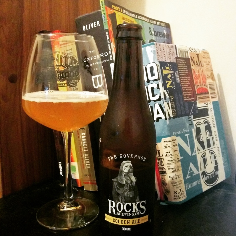 Rocks Brewing Governor Golden Ale