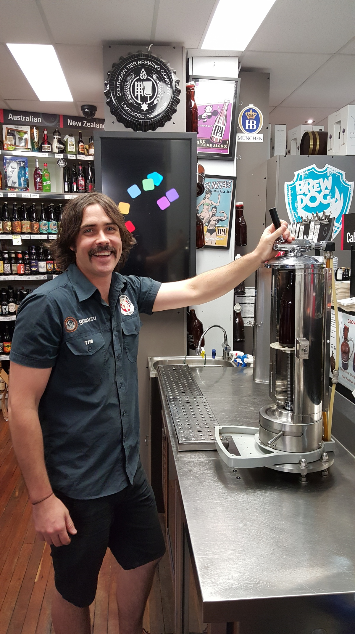 5 minutes with Tim from Cellarbrations Carlisle