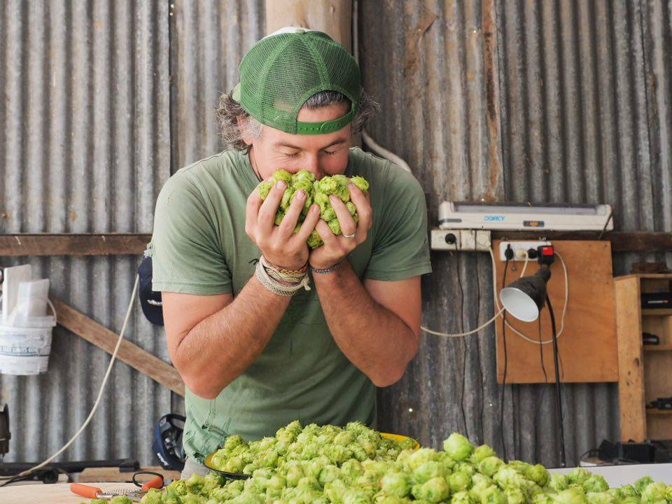 5 minutes with Trey from the Karridale Hop Farm