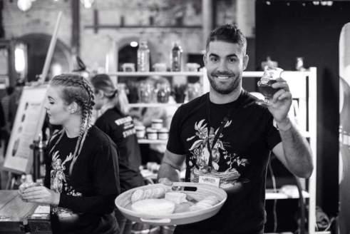 Steve Blaine at GABS Festival Sydney earlier this year. Photo Credit: The Beer Pilgrim