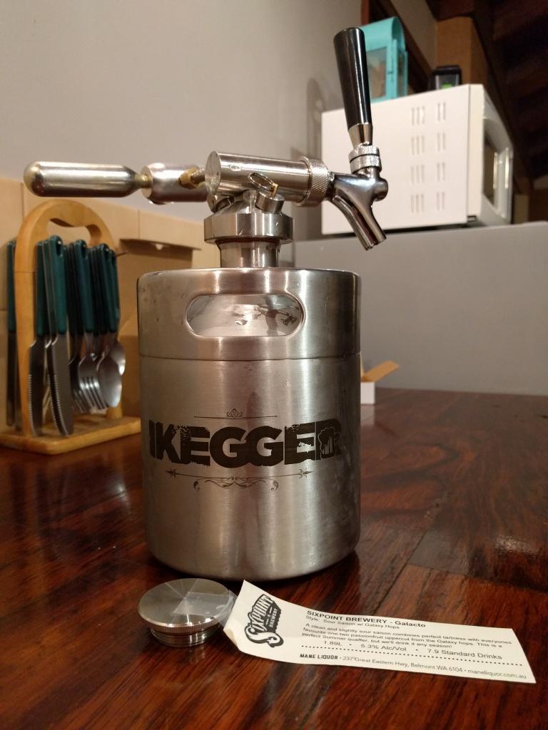 iKegger - Hummer 2lt Mini Keg