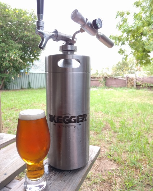 iKegger - 4lt Johnson Mini Keg