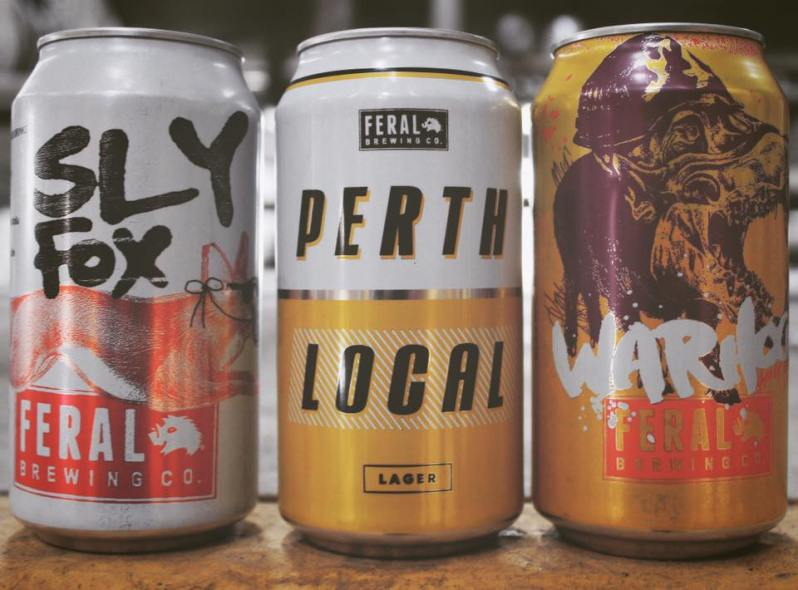 Photo borrowed lovingly from Feral Brewing Facebook page
