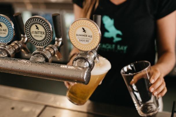 Photo Courtesy of Eagle Bay Brewing Co