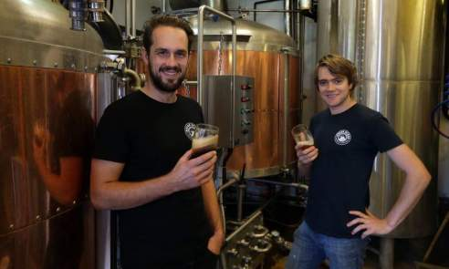 Jack Purser and Brody Watts, Indian Ocean Brewing Co