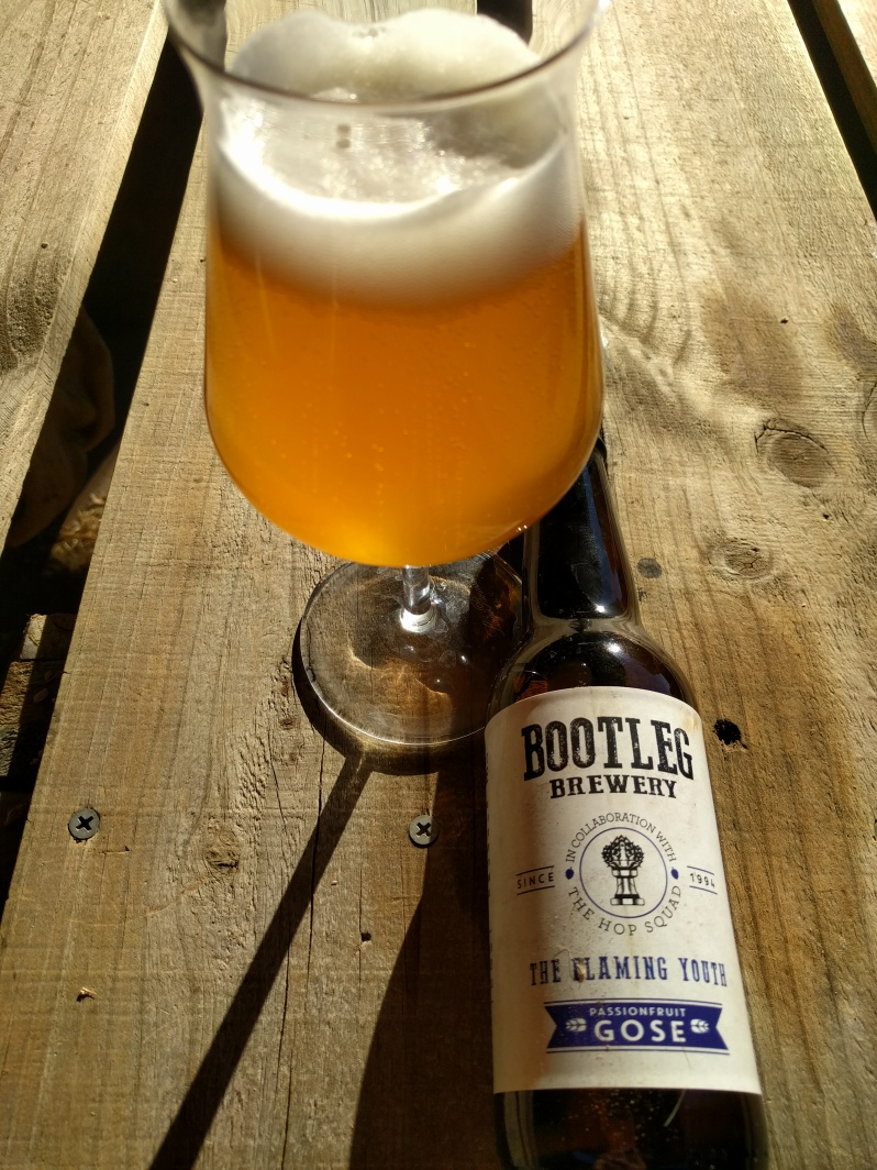 Bootleg The Flaming Youth Passionfruit Gose