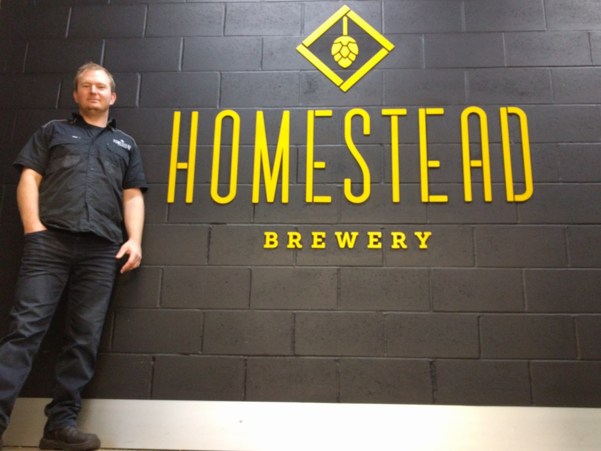5 minutes with Steve Wearing from Homestead Brewery