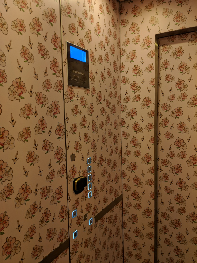 Elevator at Paramount House Hotel
